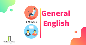 5 minute general English exercise for free