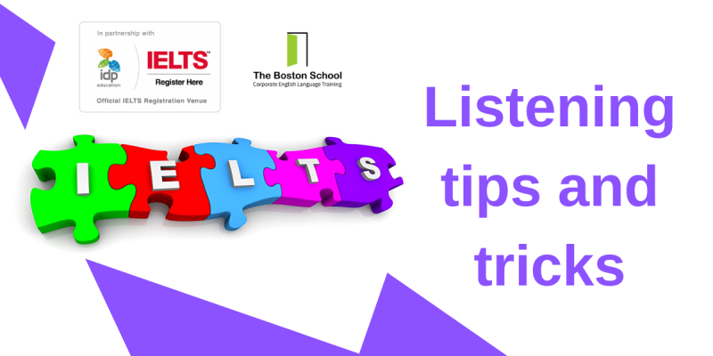 Listening examples, tips and tricks IELTS