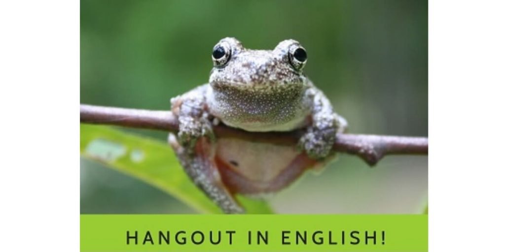 Hangout In English Monday 7PM